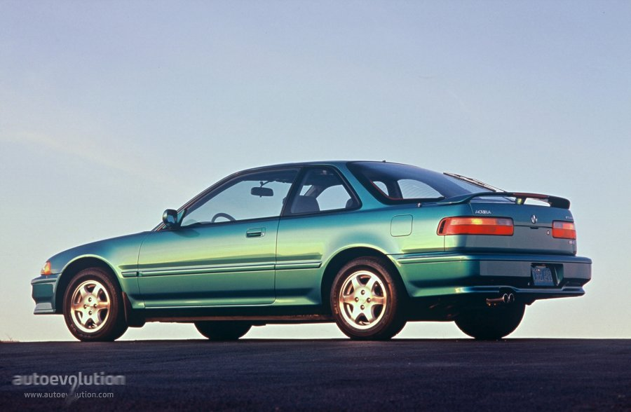 Acura Integra II 1989 - 1993 Sedan :: OUTSTANDING CARS