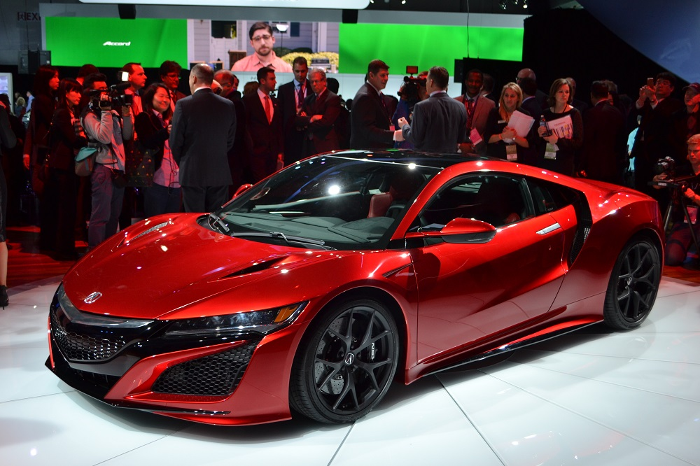 Acura NSX II 2015 - now Coupe :: OUTSTANDING CARS