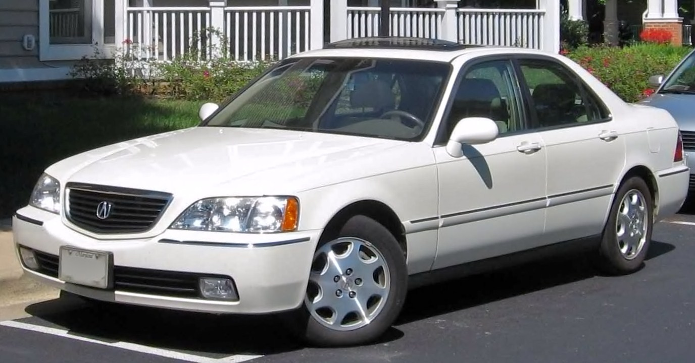 Acura Rl I 1996 1999 Sedan Outstanding Cars 1993 Legend Wiring Diagram 7