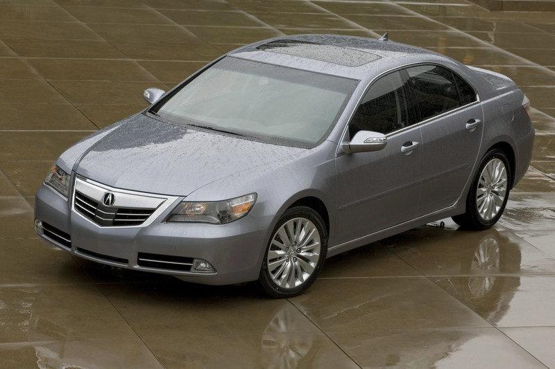 Acura RL II Restyling 2008 - 2012 Sedan #5