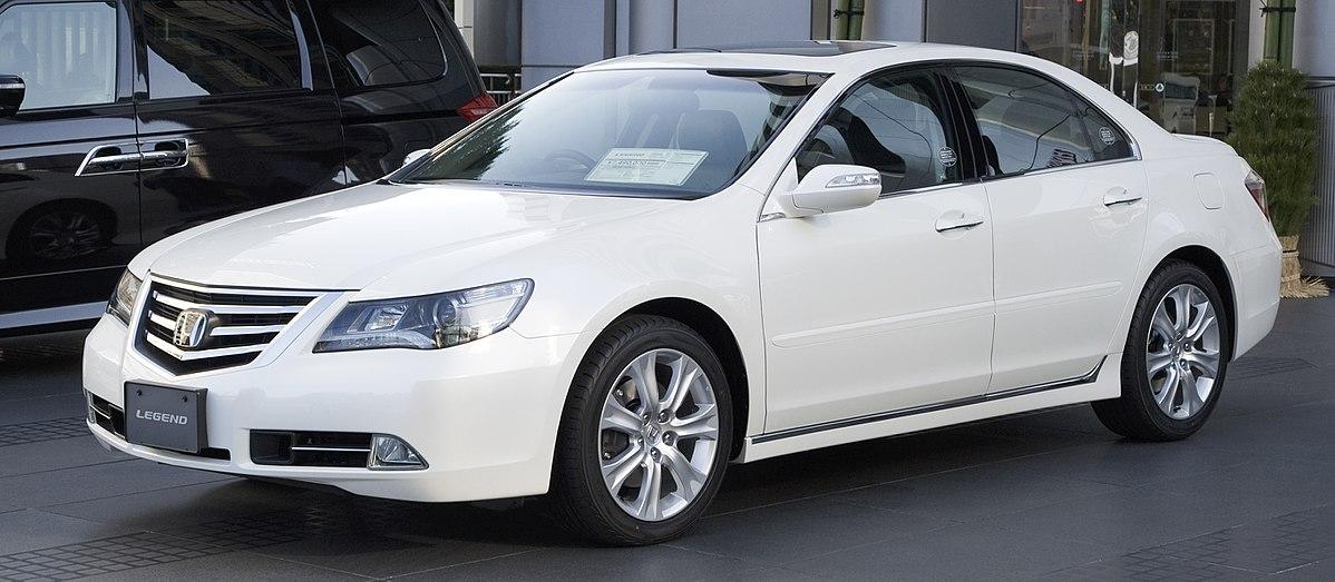 Acura RL II Restyling 2008 - 2012 Sedan #7