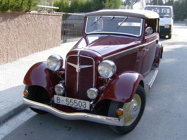 Adler Diplomat 1934 - 1940 Sedan #2