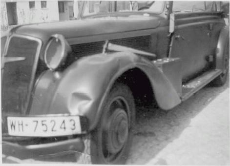 Adler Diplomat 1934 - 1940 Sedan #1