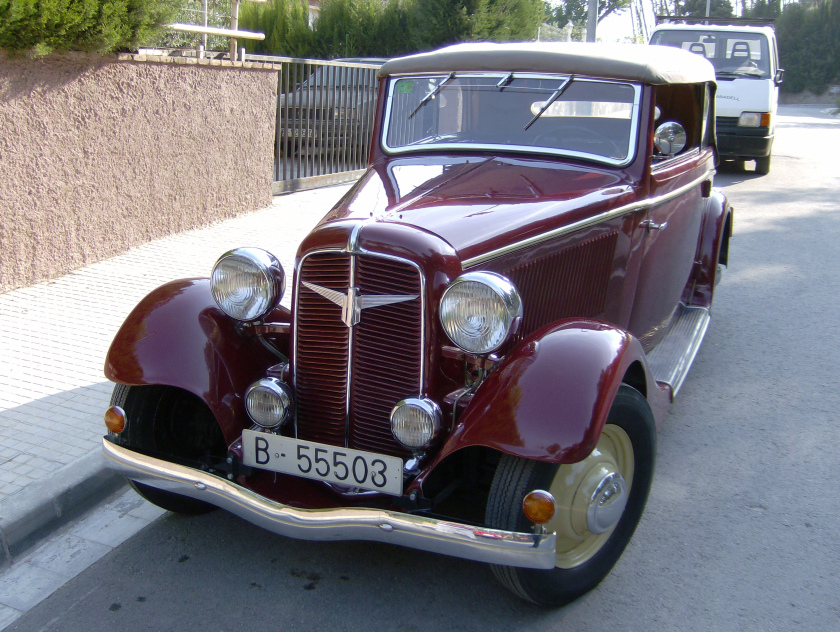 Adler Trumpf Junior I 1934 - 1941 Sedan 2 door #5