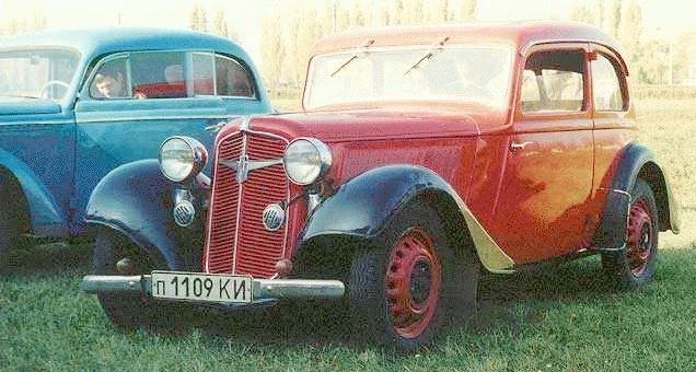 Adler Trumpf Junior I 1934 - 1941 Sedan 2 door #2