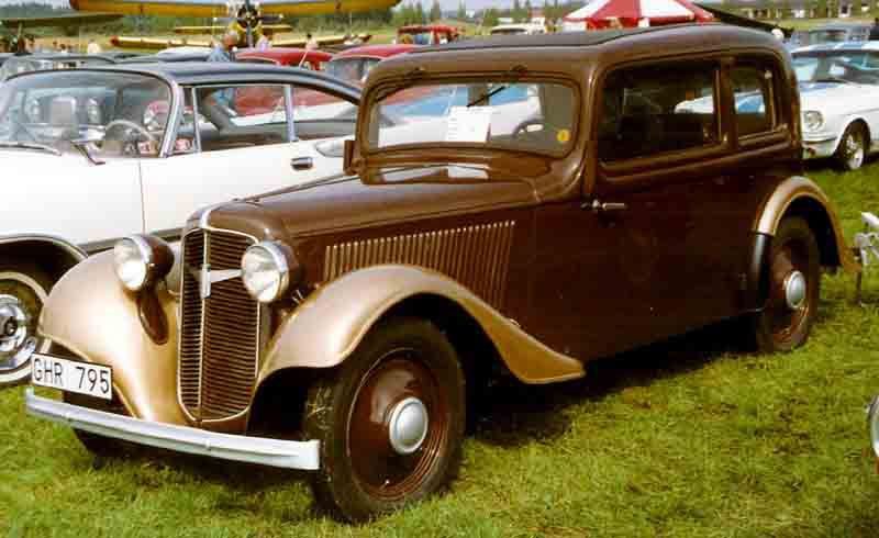 Adler Trumpf Junior I 1934 - 1941 Sedan 2 door #6