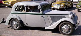 Adler Trumpf Junior I 1934 - 1941 Sedan 2 door #7