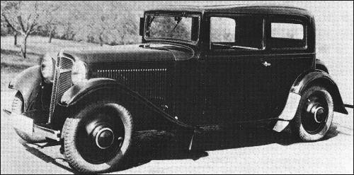 Adler Trumpf Junior I 1934 - 1941 Sedan 2 door #8