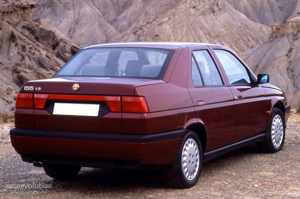 Alfa Romeo 155 I Restyling 1995 - 1997 Sedan #7