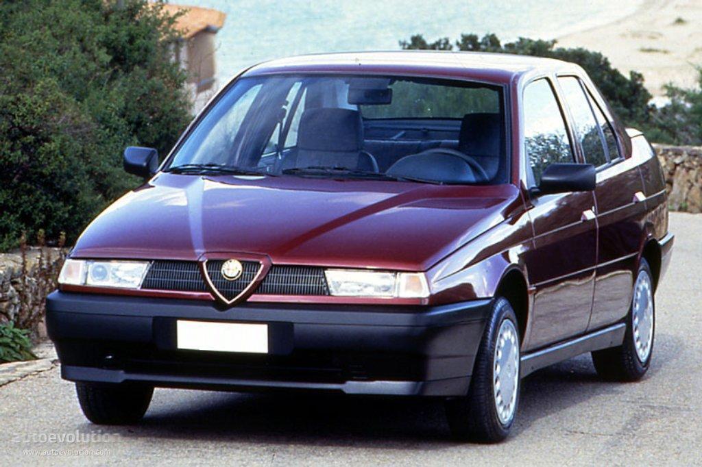 Alfa Romeo 155 I Restyling 1995 - 1997 Sedan #5