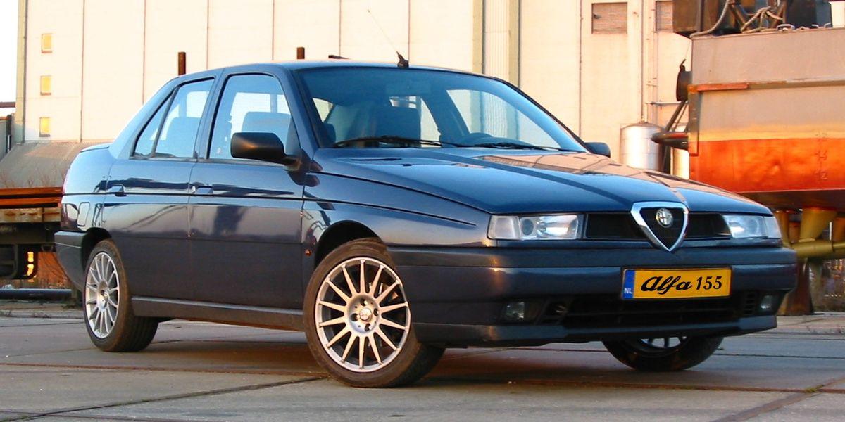 Alfa Romeo 155 I Restyling 1995 - 1997 Sedan #8