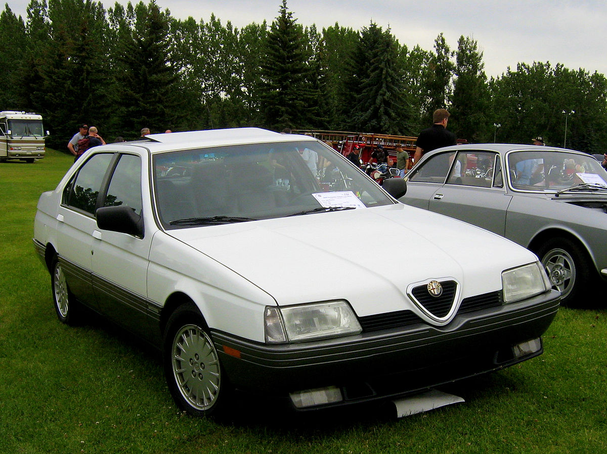 Alfa Romeo 33 I Restyling 1986 - 1990 Sedan #8