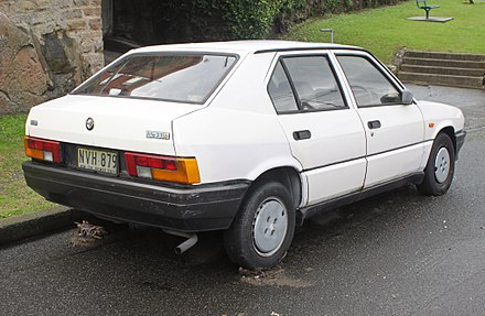 Alfa Romeo 33 I Restyling 1986 - 1990 Sedan #3
