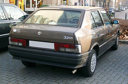 Alfa Romeo 33 I Restyling 1986 - 1990 Sedan #6