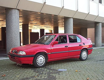 Alfa Romeo 33 I Restyling 1986 - 1990 Sedan #7