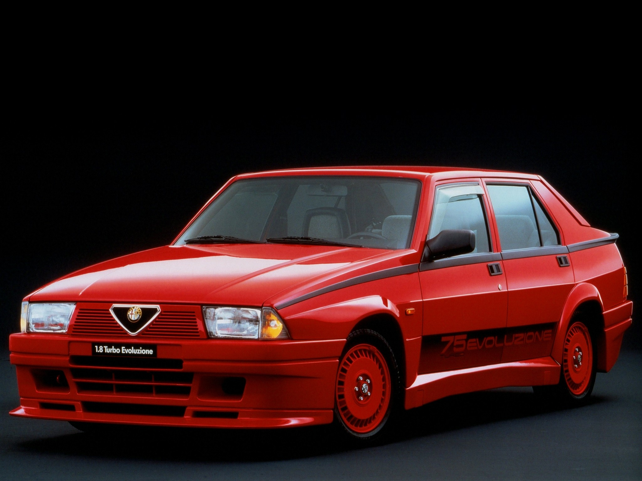 Alfa Romeo 75 I 1985 1988 Sedan Outstanding Cars