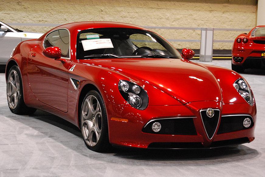 Alfa Romeo 8C Competizione 2007 - 2010 Roadster #8
