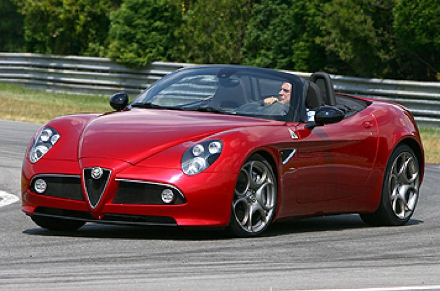 Alfa Romeo 8C Competizione 2007 - 2010 Roadster #4