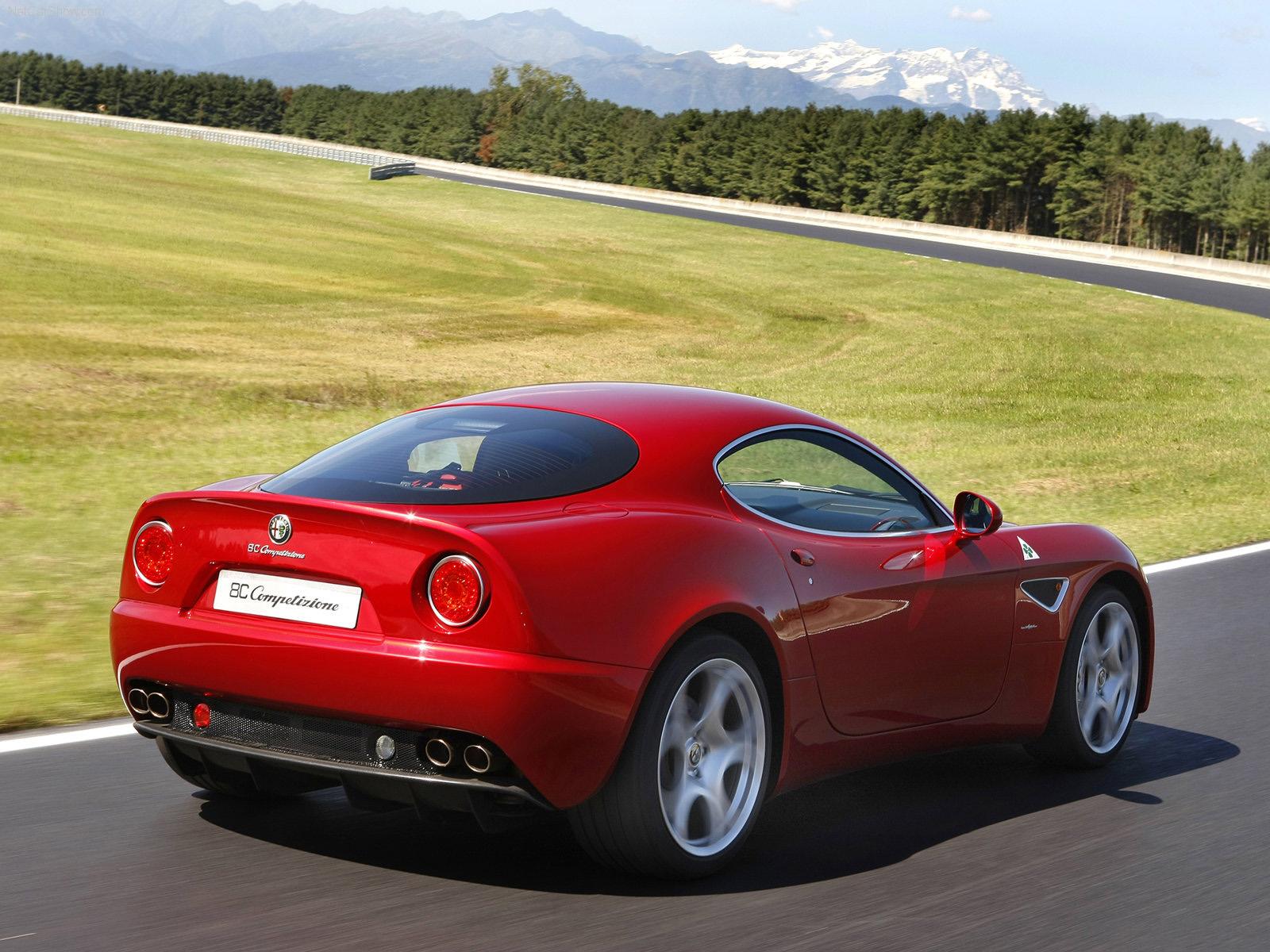 Alfa Romeo 8C Competizione 2007 - 2010 Roadster #5