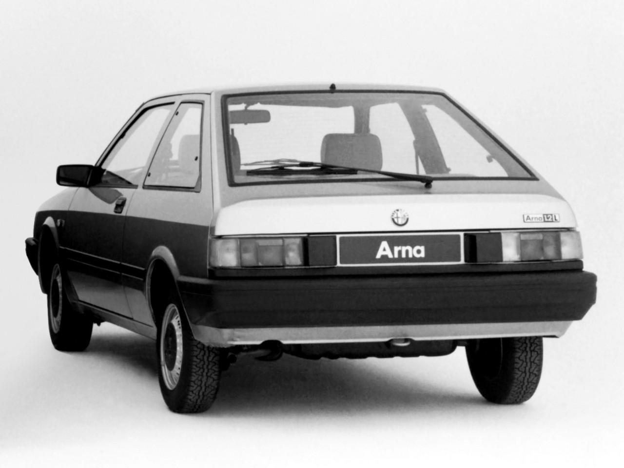 Alfa Romeo Arna 1983 - 1987 Hatchback 5 door #3