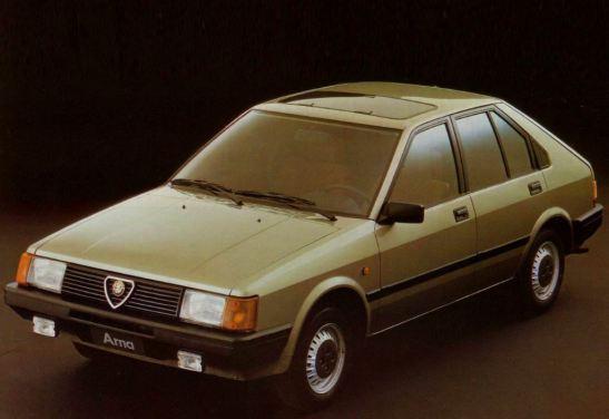 Alfa Romeo Arna 1983 - 1987 Hatchback 5 door #8
