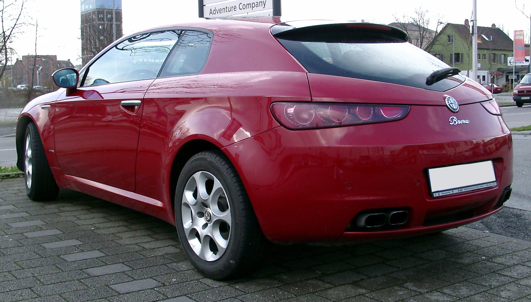 Alfa Romeo Brera 2005 - 2010 Hatchback 3 door :: OUTSTANDING CARS