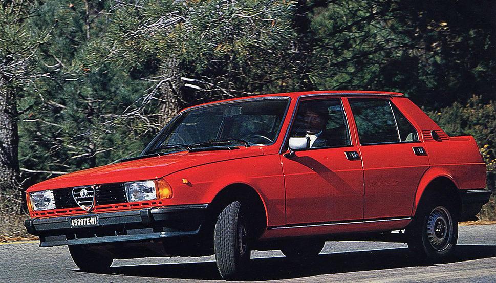 Alfa Romeo Giulietta II 1977 - 1985 Sedan #6