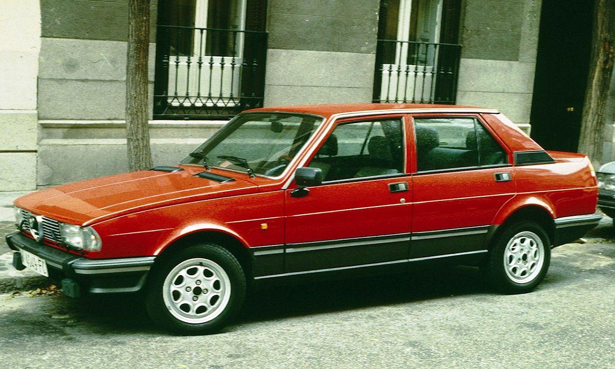 Alfa Romeo Giulietta II 1977 - 1985 Sedan #4