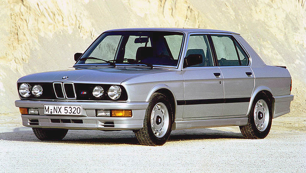 BMW M5 I (E28) 1985 - 1988 Sedan #2