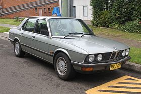 BMW M5 I (E28) 1985 - 1988 Sedan #8