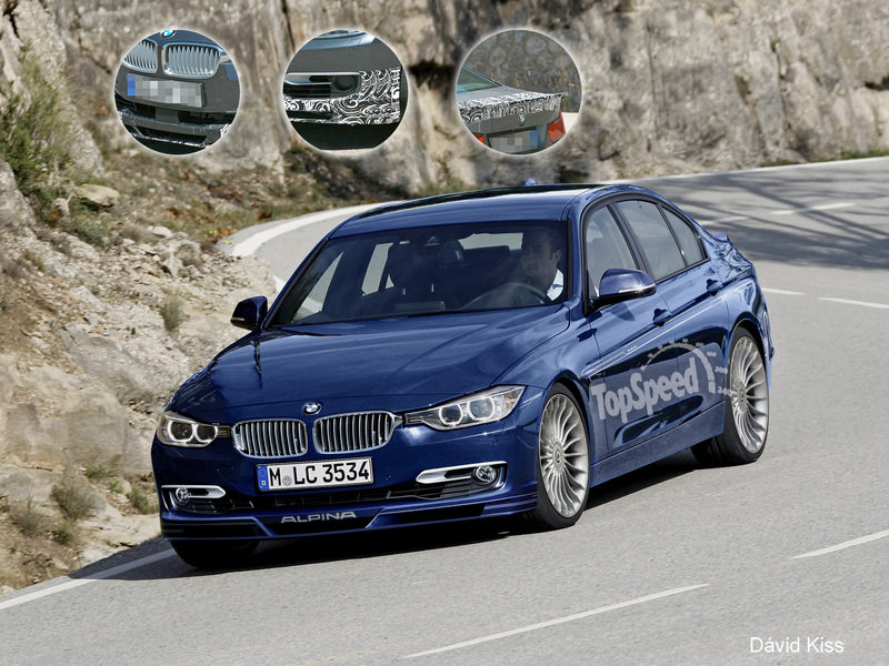Alpina D3 F30 2013 - now Station wagon 5 door #7
