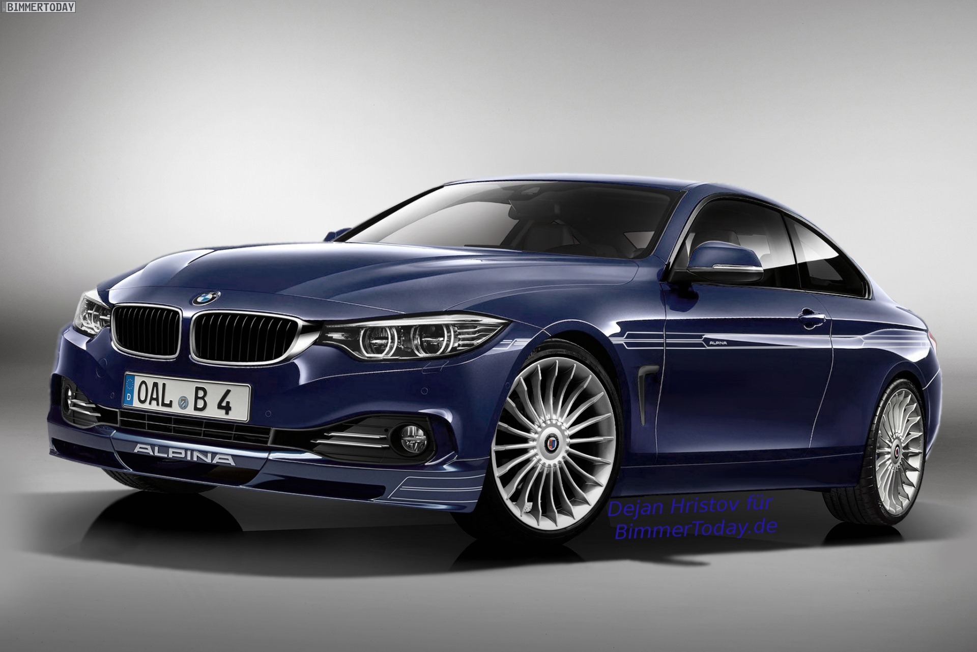 Alpina B4 F32 2013 - now Coupe #6