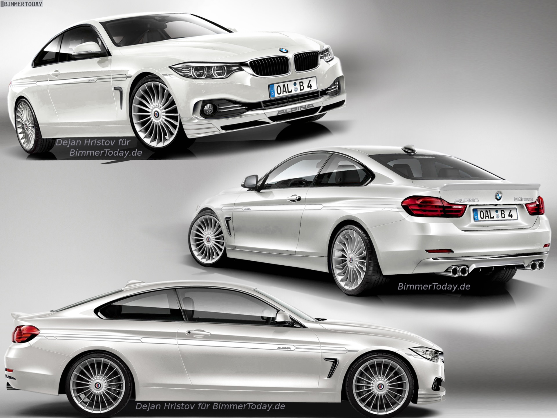 Alpina B4 F32 2013 - now Coupe #3