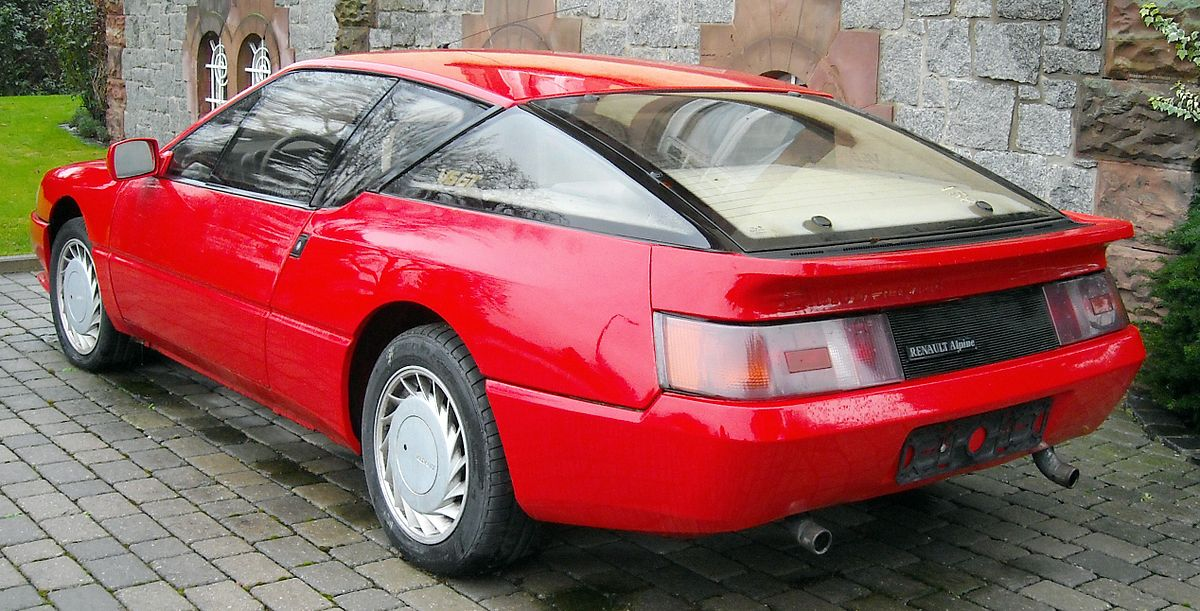 Alpine GTA 1985 - 1990 Coupe #6