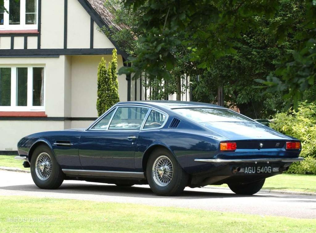 Aston Martin DBS I 1967 - 1972 Coupe #7