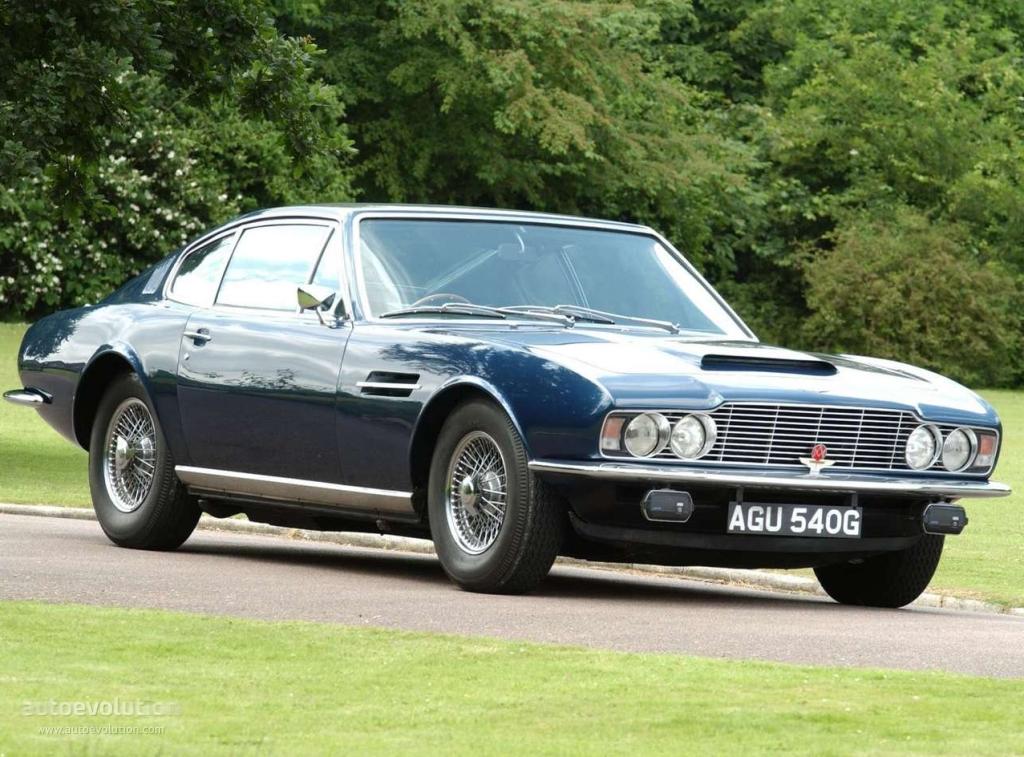 Aston Martin DBS I 1967 - 1972 Coupe #8