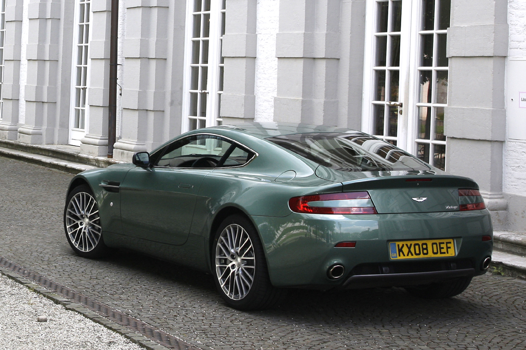 Aston Martin V8 Vantage Iii Restyling 2008 Now Coupe Outstanding Cars