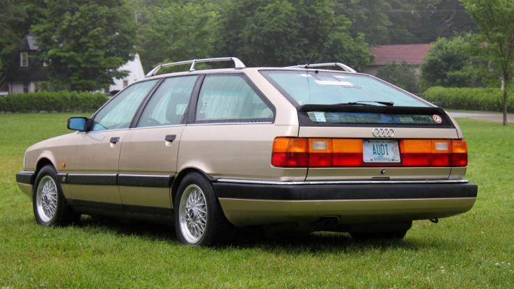 Audi 200 II (C3) 1983 - 1991 Station wagon 5 door #2