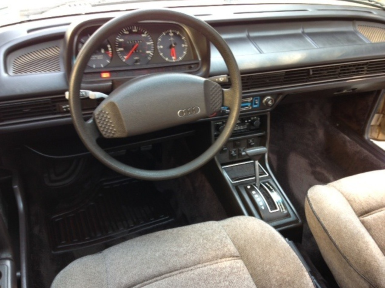 Audi 5000 C2 1980 - 1983 Sedan #5