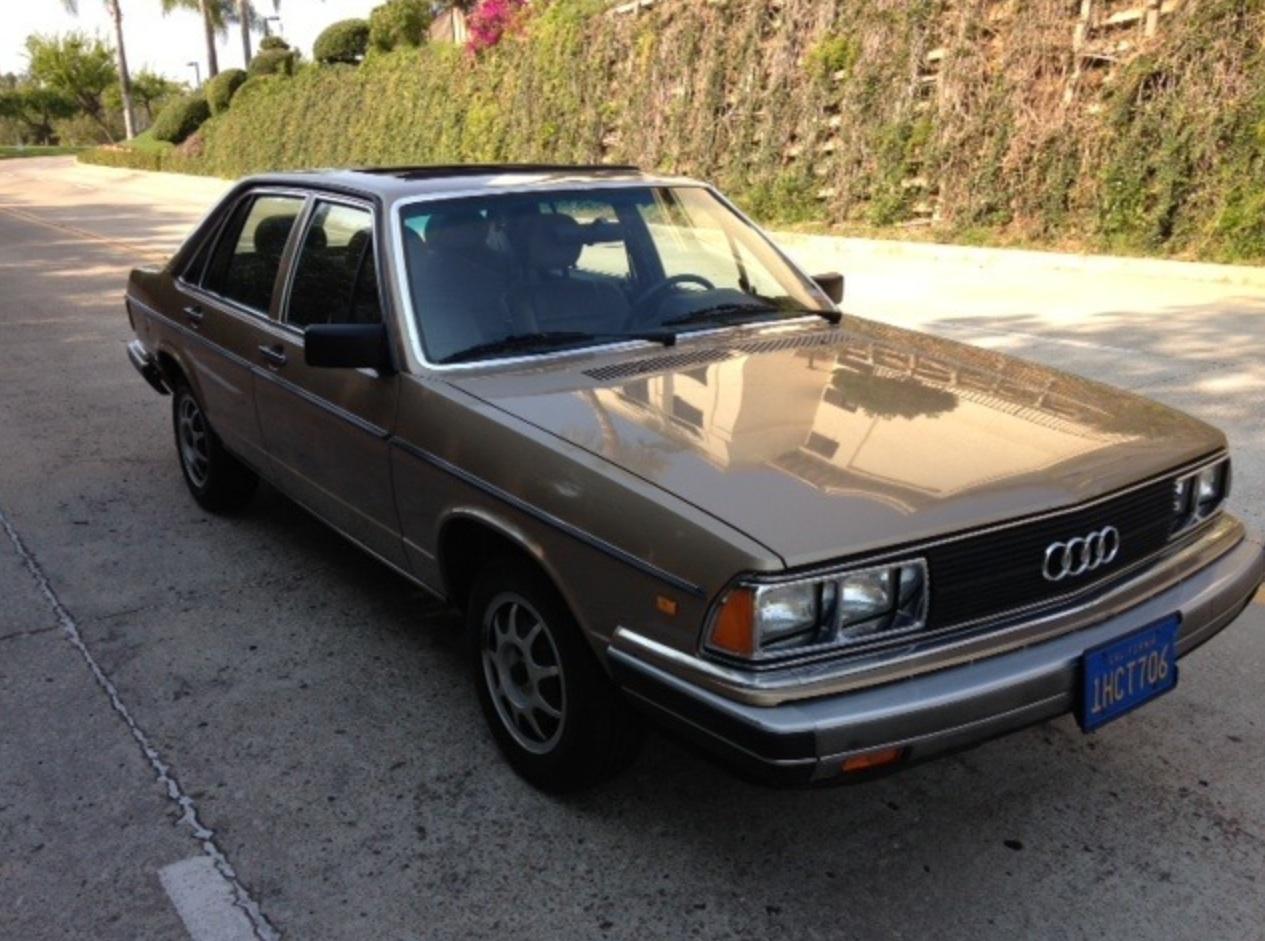 Audi 5000 C2 1980 - 1983 Sedan #4