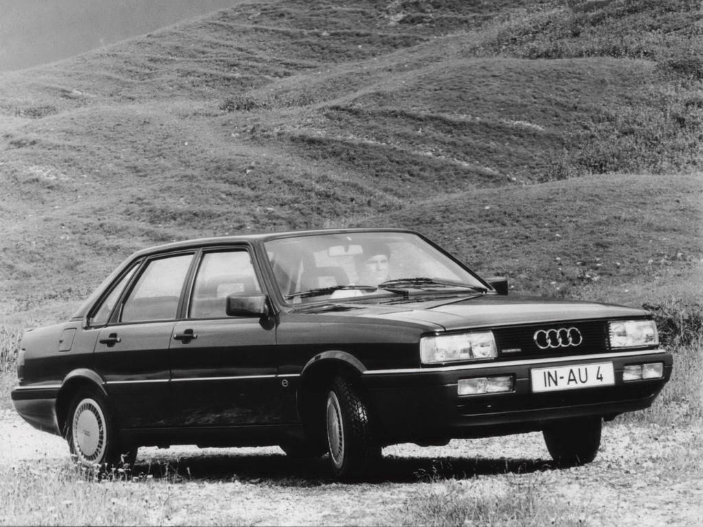Audi 90 I (B2) 1984 - 1986 Sedan #5