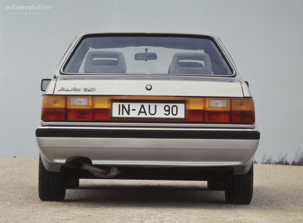 Audi 90 I (B2) 1984 - 1986 Sedan #3