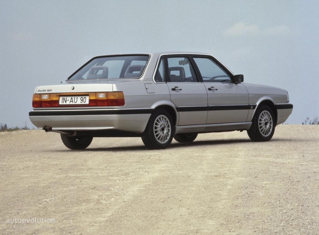Audi 90 I (B2) 1984 - 1986 Sedan #4