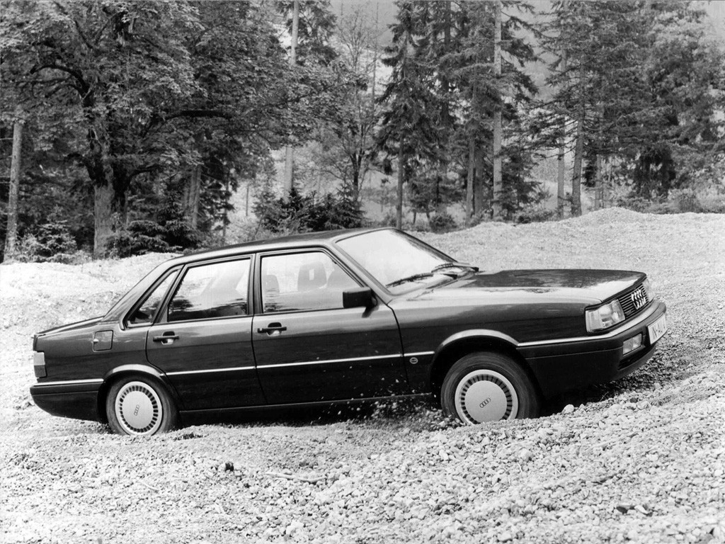 Audi 90 I (B2) 1984 - 1986 Sedan #6