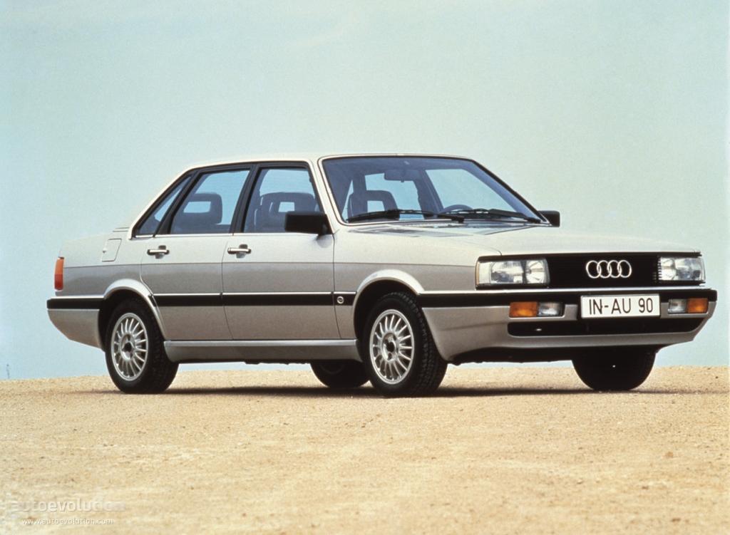 Audi 90 I (B2) 1984 - 1986 Sedan #8
