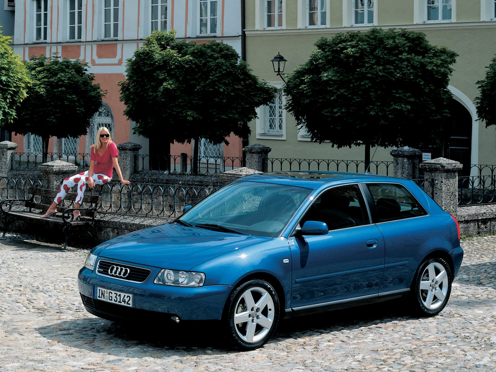 Audi A3 I (8L) 1996 - 2000 Hatchback 3 door #5