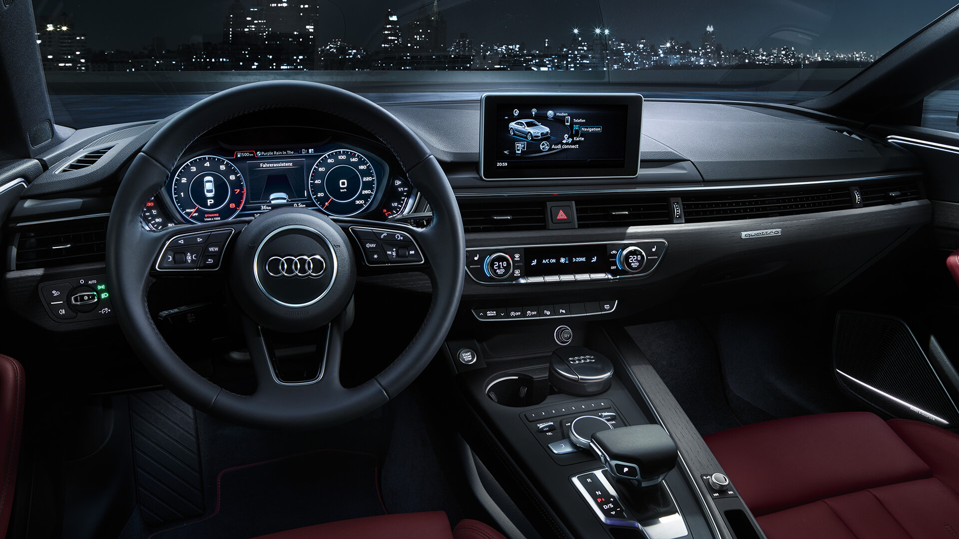 Audi A5 Ii 2016 Now Coupe Outstanding Cars