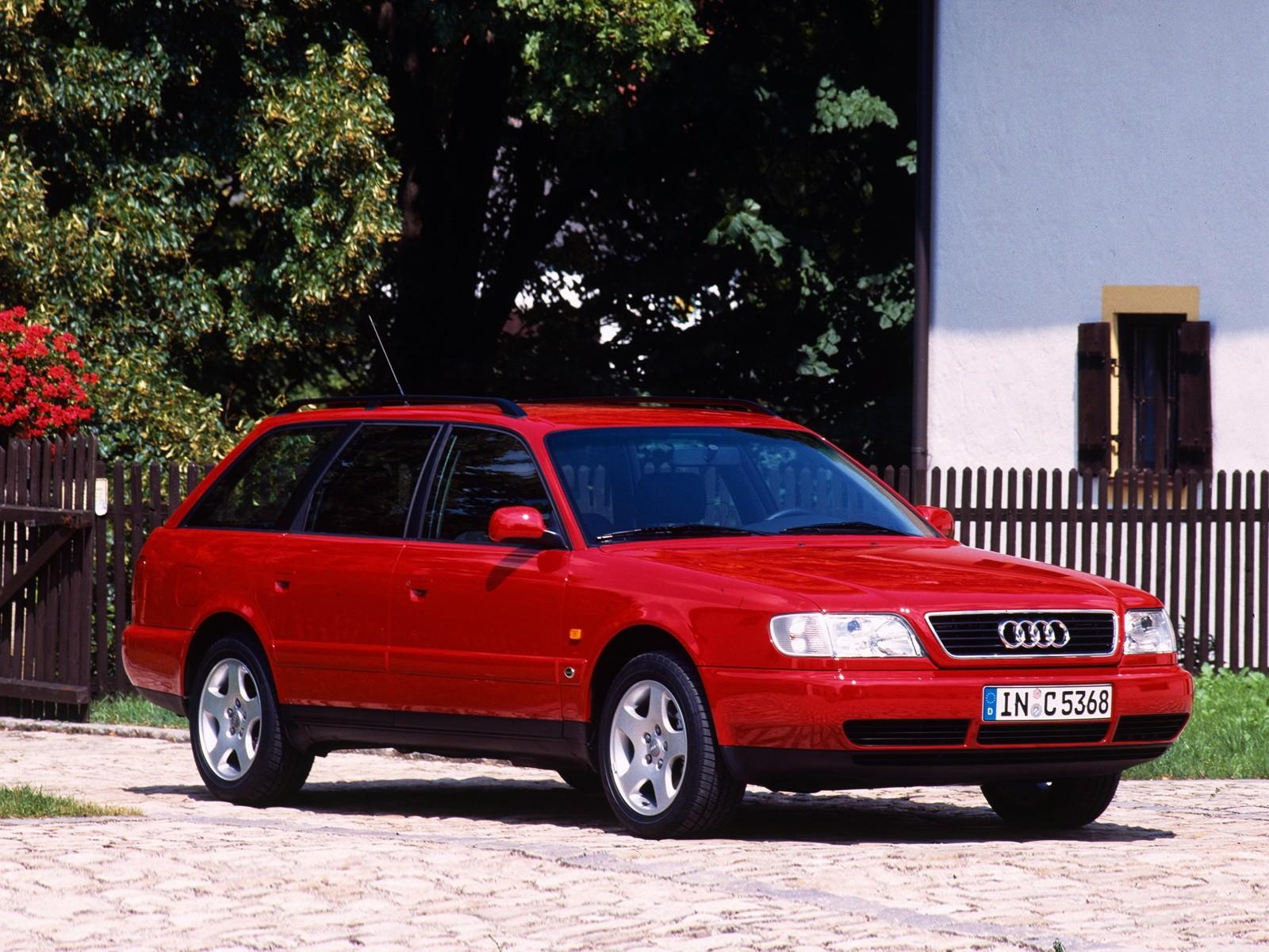 Audi A6 I (C4) 1994 - 1997 Sedan #2