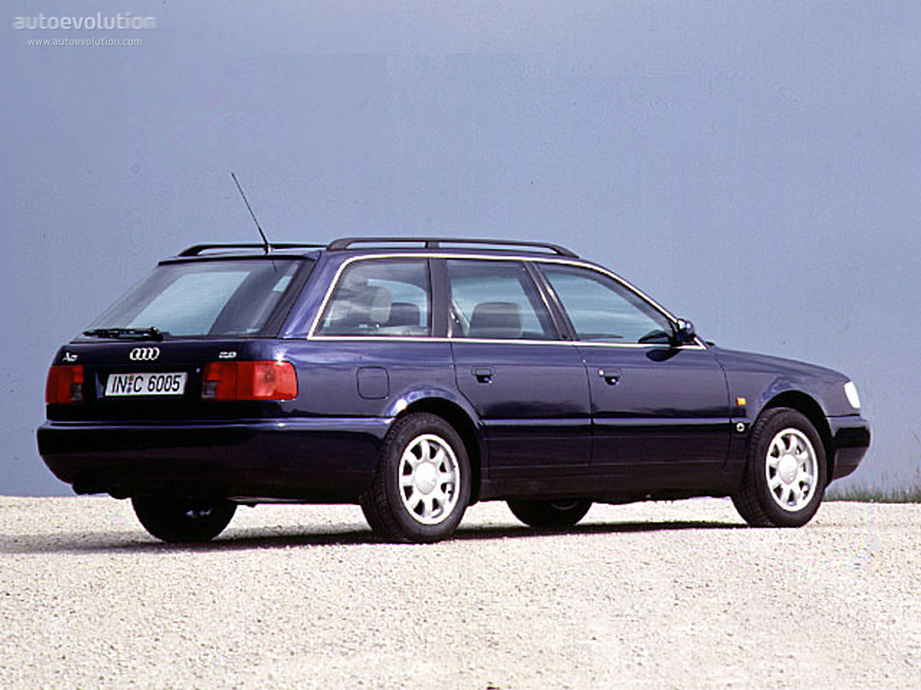 Audi A6 I (C4) 1994 - 1997 Sedan #4