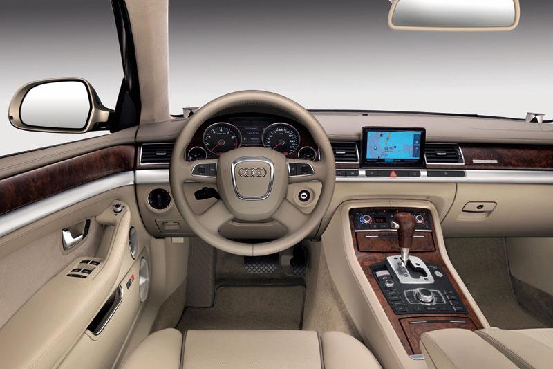 Audi A8 II (D3) Restyling 2 2007 - 2010 Sedan :: OUTSTANDING CARS